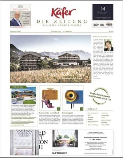 Munich Jewels @Käfer Zeitung 2017