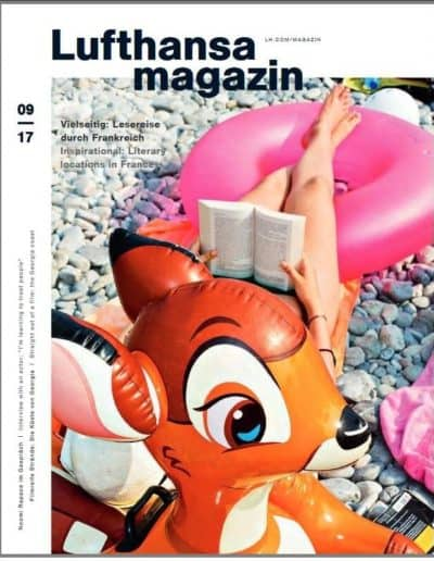Munich Jewels @ Lufthansa Magazin 92017 Cover