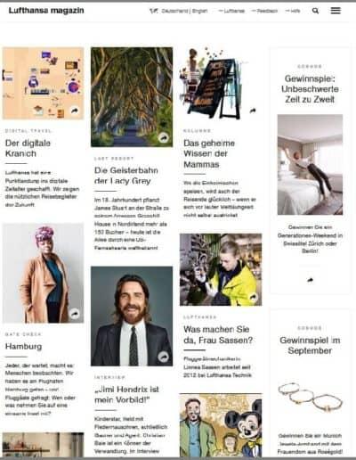 Munich Jewels @ magazin.lufthansa.com