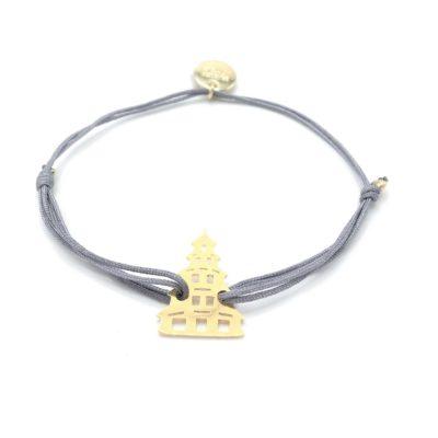 Munich Jewels Armband Chinaturm vergoldet