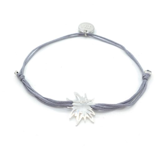 Munich Jewels Armband Edelweiß rhodiniert