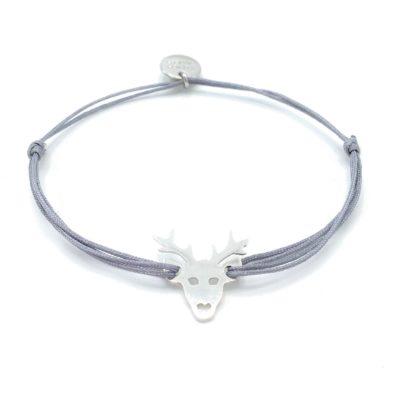 Munich Jewels Armband Hirsch rhodiniert