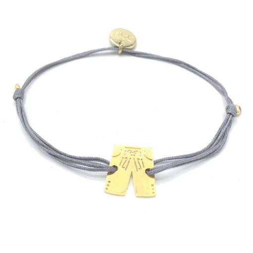 Munich Jewels Armband Lederhose vergoldet