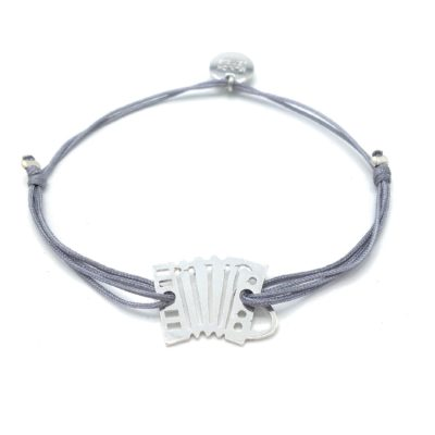 Munich Jewels Armband Quetschn rhodiniert