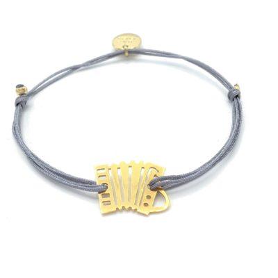 Munich Jewels Armband Quetschn vergoldet