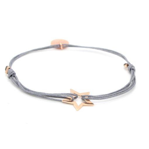 Munich Jewels Armband Stern Roségold