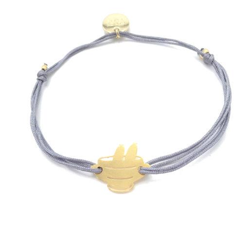 Munich Jewels Armband Weißwursttopf vergoldet