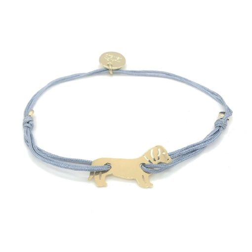 Munich Jewels Armband Zamperl vergoldet