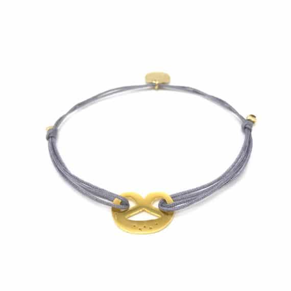 Munich Jewels Armband Brezel vergoldet