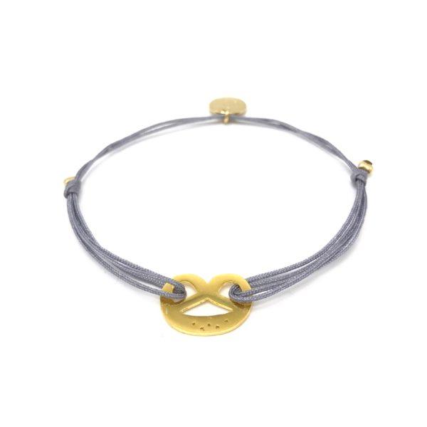 Munich Jewels Armband Damen Breze vergoldet