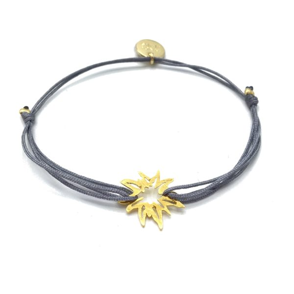 Munich Jewels Armband Edelweiß vergoldet