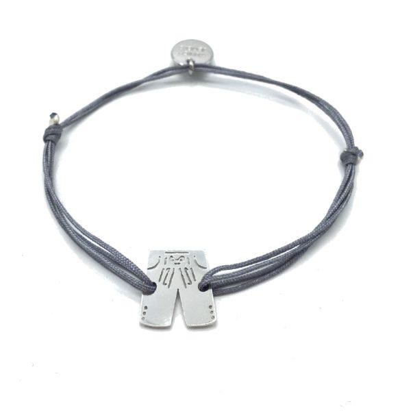 Munich Jewels Armband Lederhose rhodiniert