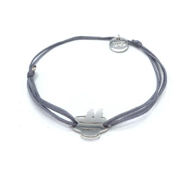 Munich Jewels Silber Armband Weißwursttopf rhodiniert