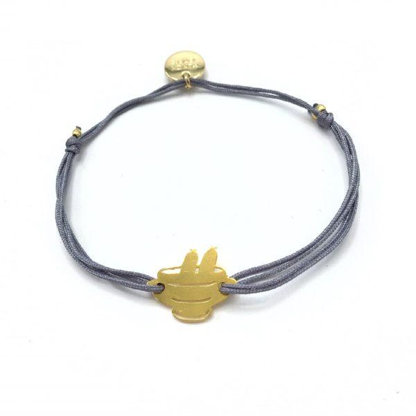 Munich Jewels Goldenes Armband Weißwursttopf vergoldet