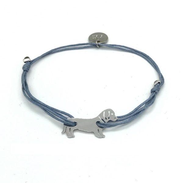 Munich Jewels Armband Hund Zamperl rhodiniert