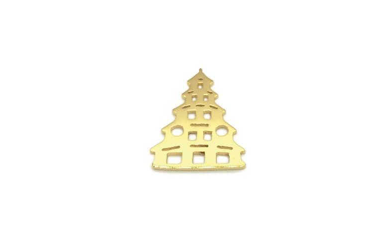 Munich Jewels Chinesischer Turm vergoldet