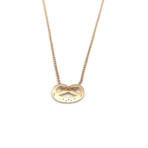 Munich Jewels Kette Breze rosévergoldet