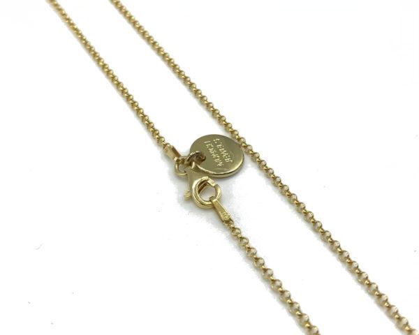 Munich Jewels Kette Verschluß Karabiner Gold