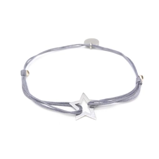 Munich Jewels Armband Stern rhodiniert