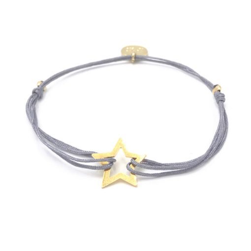 Munich Jewels Armband Stern vergoldet
