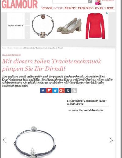 Munich Jewels on Glamour.de Belegseite