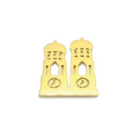 MUNICH JEWELS Symbol Frauendom vergoldet