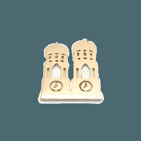 MUNICH JEWELS Symbol Frauendom rosévergoldet