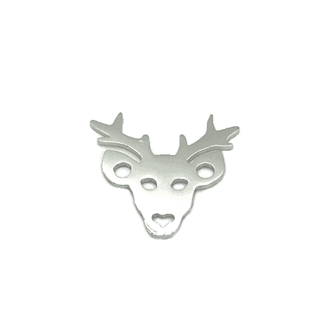 Hirsch rhodiniert