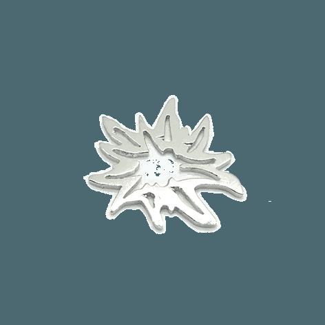 Munich Jewels Edelweiss rhodiniert
