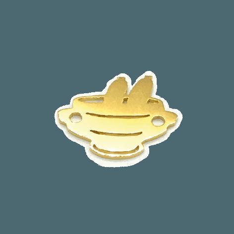 Weißwursttopf Feingold plattiert