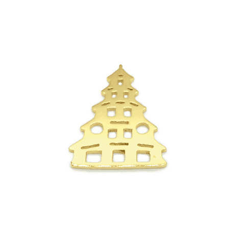 Munich Jewels Chinaturm vergoldet