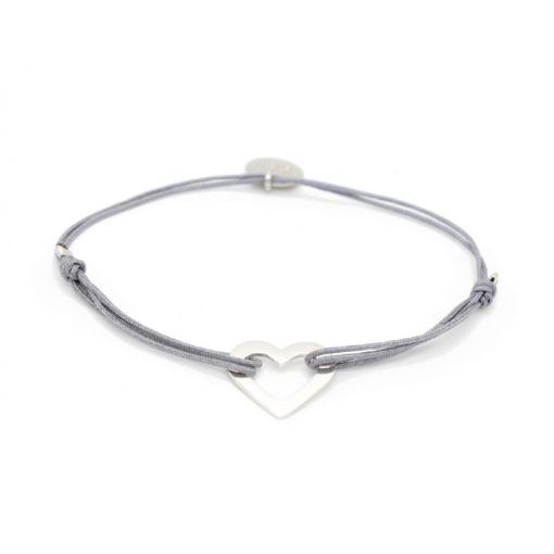 Munich Jewels Armband Herz rhodiniert