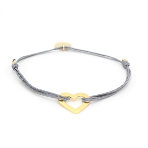 Munich Jewels Armband Herz vergoldet