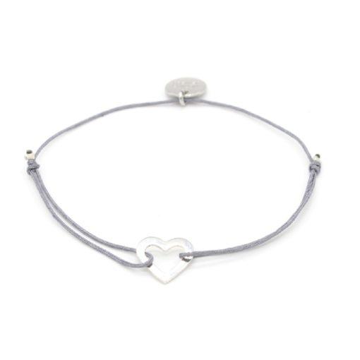 Munich Jewels Armband Mini Herz rhodiniert