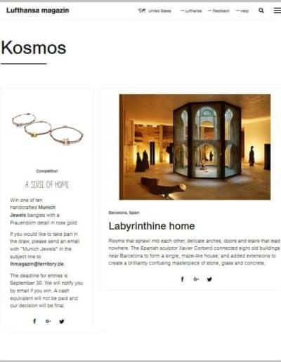 Lufthansa Magazin September 2017 - Online English Version
