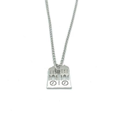 Munich Jewels Kette Frauendom rhodiniert