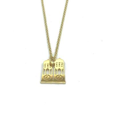 Munich Jewels Kette Frauendom vergoldet