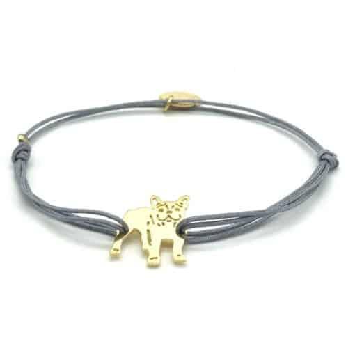 Munich Jewels Armband Franzöösische Bulldogge Zamperl 2.0 vergoldet