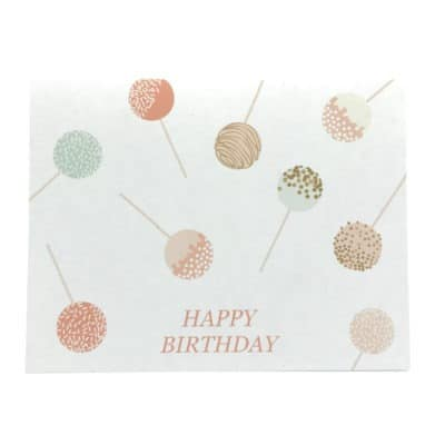 Munich Jewels Grußkarte Happy Birthday Cakepop