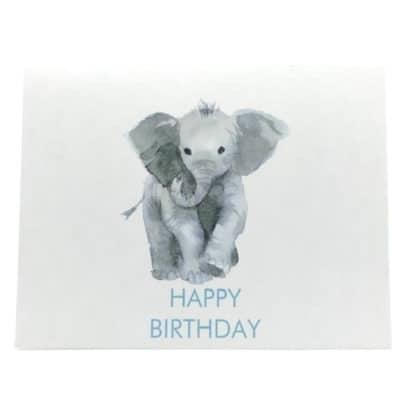 Munich Jewels Grußkarte Elefant Happy Birthday